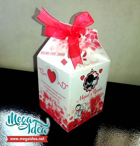 cajita milk megaidea