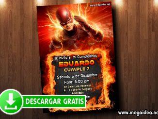 flash invitaciones muestra