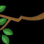 gallina pintadita mini clipart arbol 8