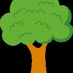 gallina pintadita mini clipart arbol animado 2
