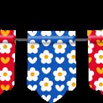 gallina pintadita mini clipart banderin 1