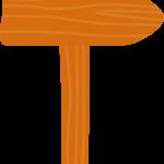 gallina pintadita mini clipart flecha