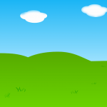 gallina pintadita mini clipart fonod paisaje