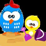 gallina pintadita mini clipart gallina pollito