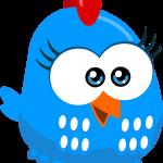 gallina pintadita mini clipart gallinita azul 456