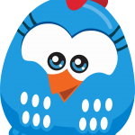 gallina pintadita mini clipart gallinita azul 5498