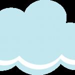 gallina pintadita mini clipart nube2