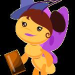 gallina pintadita mini clipart personajes