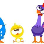 gallina pintadita mini clipart personajes 49899