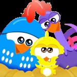 gallina pintadita mini clipart personajes 984