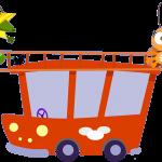gallina pintadita mini clipart personajes carrito