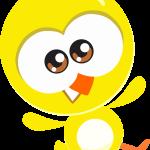 gallina pintadita mini clipart pollito amarillo 23