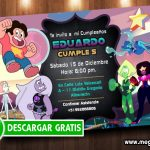Steven Universe Invitations FREE