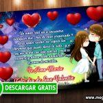 Tarjeta San Valentin para Imprimir GRATIS