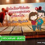 Tarjeta de San Valentin para Editar GRATIS