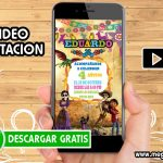 Video Invitación de Coco GRATIS
