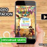 Video Invitación de Coco GRATIS