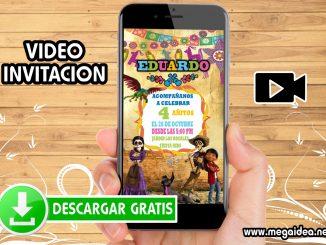 video invitacion coco muestra