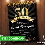 50th Birthday Invitations FREE