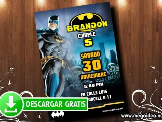 Batman2 invitacion MUESTRA