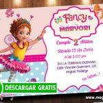 Invitaciones de Cumpleaños Fancy Nancy Clancy