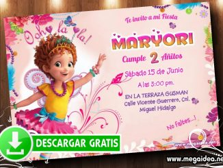Fancy Nancy Invitacion MUESTRA