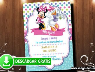Minnie y Daisy Invitacion MUESTRA