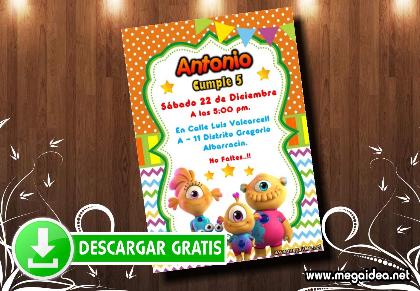Nivis Amigos Invitacion MUESTRA