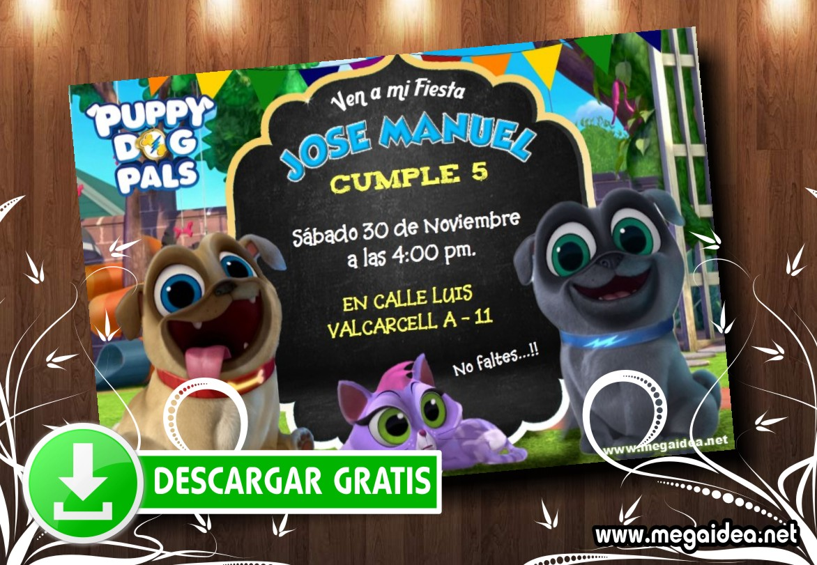 Puppy Dog Pals muestra