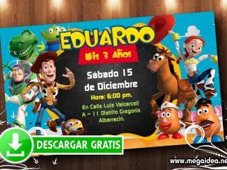 ToyStory invitacion MUESTRA