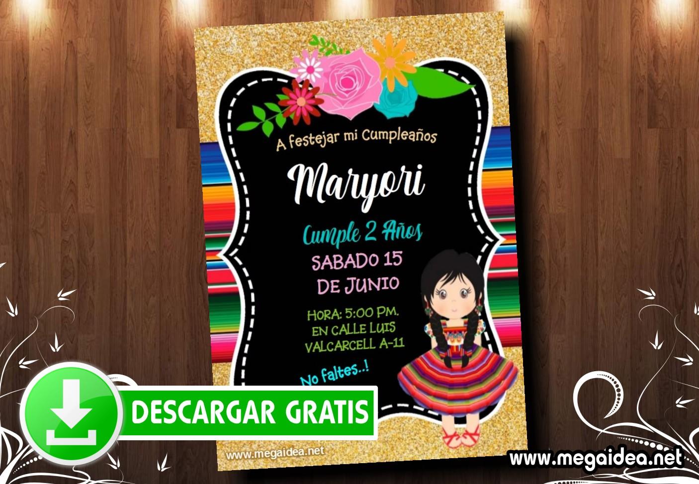 mexico invitacion MUESTRA