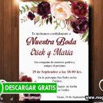 Invitación de Boda en Español GRATIS