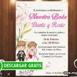Invitación de Boda Divertida GRATIS