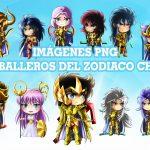 Imágenes de los Caballeros del Zodiaco Chibi