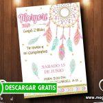 Tarjetas Atrapasueños para Imprimir GRATIS