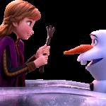 Frozen2 Barco Anna Olaf