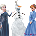 Frozen2 Olaf Elsa Anna