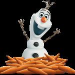 Frozen2 Olaf Zanahorias