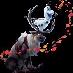 Frozen2 Olaf y Sven