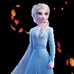 Frozen2 elsa hojas