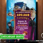 Invitacion Hotel Transylvania 3
