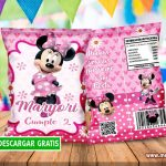 Minnie Mouse Chip Bags Bolsas para Galletas GRATIS