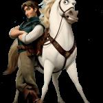 Rapunzel principe y caballo