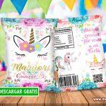 Chip Bags de Unicornio Bolsas para Galletas GRATIS