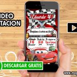 Video Invitacion Cars GRATIS