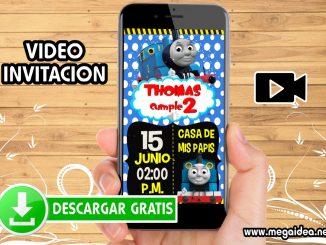 Video invitacion Tren Thomas