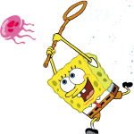 bob esponja clipart medusa