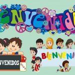 Bienvenidos al Jardin Infantil PNG