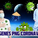 Imagenes PNG de CoronaVirus Animados