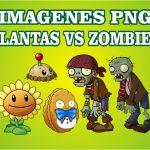 Plants vs Zombies PNG cumpleaños